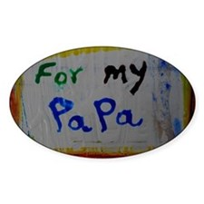 for my papa Decal