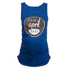 Grey April Maternity Tank Top