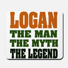 LOGAN - the legend! Mousepad