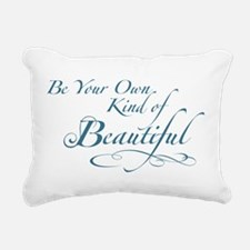 Be Your Own Kind of Beautiful Rectangular Canvas P