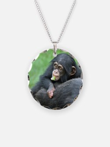 Chimpanzee005 Necklace