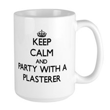 Keep Calm and Party With a Plasterer Mugs