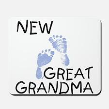 New Great Grandma (blue) Mousepad