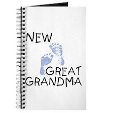 New Great Grandma (blue) Journal