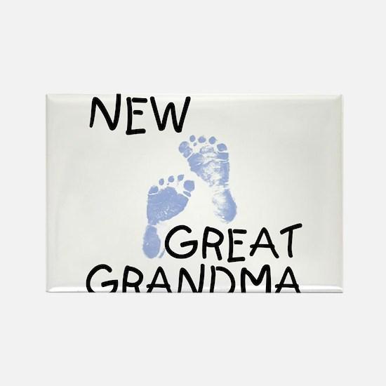 New Great Grandma (blue) Rectangle Magnet