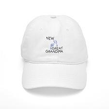 New Great Grandma (blue) Baseball Baseball Cap