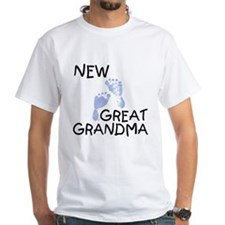 New Great Grandma (blue) Shirt