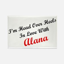 In Love with Alana Rectangle Magnet