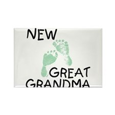New Great Grandma (green) Rectangle Magnet