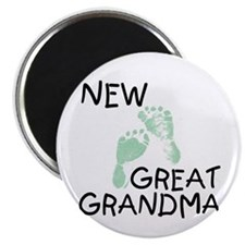 New Great Grandma (green) Magnet