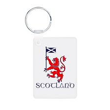 Scotland running designer Keychains
