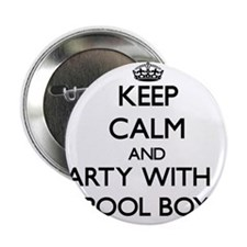 "Keep Calm and Party With a Pool Boy 2.25"" Button"
