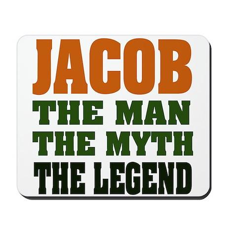 JACOB - the legend! Mousepad