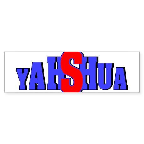 Yahshua Bumper Sticker