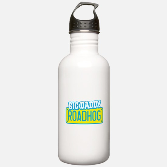 BIG DADDY ROADHOG licence plate Water Bottle