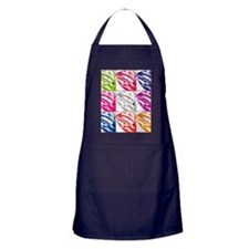 Hot Lips Pop Art Apron (dark)