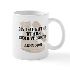 Army Mom Daughter wears DCB Mugs