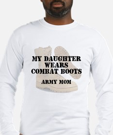 Army Mom Daughter wears DCB Long Sleeve T-Shirt