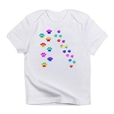 Rainbow paw prints Infant T-Shirt