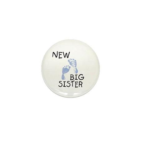 New Big Sister (blue) Mini Button (10 pack)