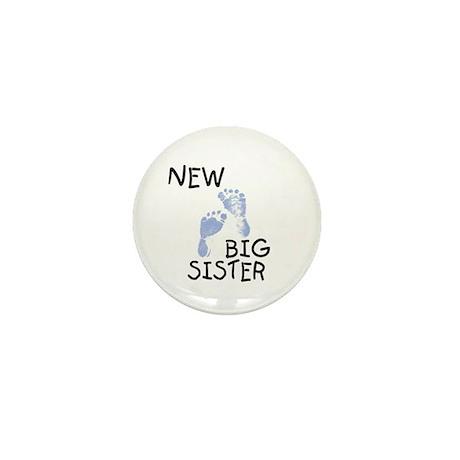 New Big Sister (blue) Mini Button