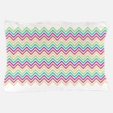 Colorful Chevron Pillow Case