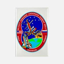 STS-89 Endeavour Rectangle Magnet