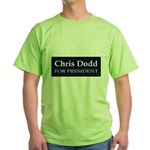 CHRIS DODD 2008 Green T-Shirt