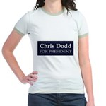 CHRIS DODD 2008 Jr. Ringer T-Shirt