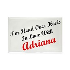 In Love with Adriana Rectangle Magnet