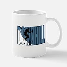 Downhill Skiing Logo Mug