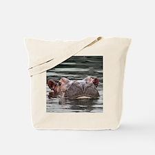 Hippo002 Tote Bag