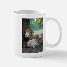 Serene Horned Ewe Lamb Mugs