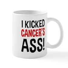 I Kicked Cancer's Ass Small Mug