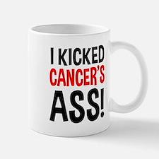 I Kicked Cancer's Ass Small Small Mug