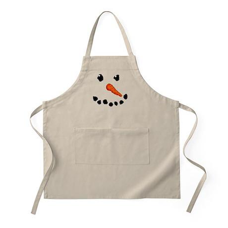 Cute Snowman Apron