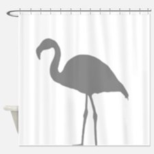 Flamingo Silhouette Shower Curtain