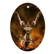 Mantiwar Oval Ornament