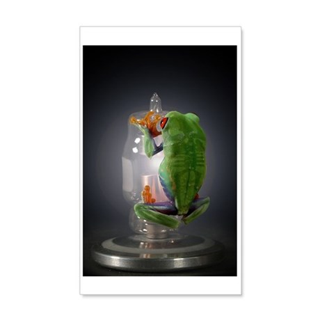 frog 35x21 Wall Decal