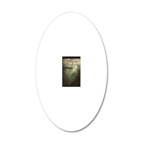 Irian Jaya 20x12 Oval Wall Decal