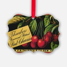 Vintage Fruit Crate Label Ornament