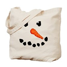 Cute Snowman Tote Bag