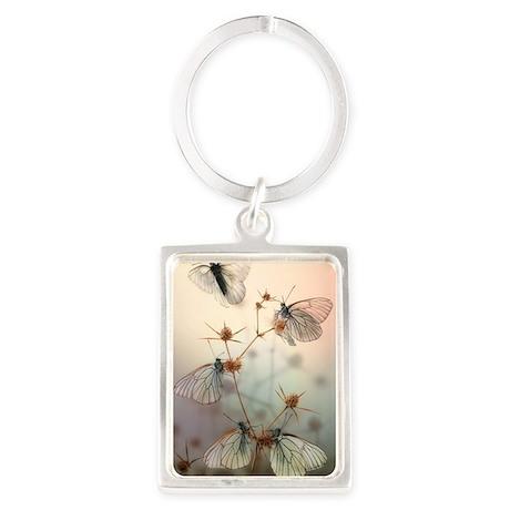 Wings Portrait Keychain
