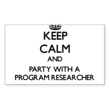 Keep Calm and Party With a Program Researcher Stic