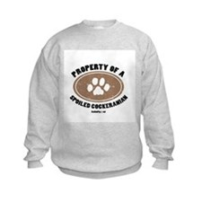 Cockeranian   dog Sweatshirt