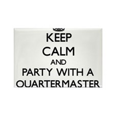 Keep Calm and Party With a Quartermaster Magnets