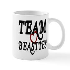Heart Team Beasties Mugs
