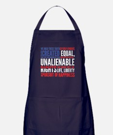 Declaration of Independence Apron (dark)