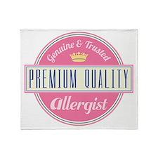 Allergist Vintage Gift Throw Blanket