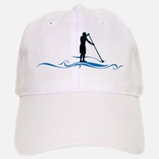 Stand Up Paddle-Waves Baseball Hat